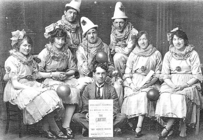 The Gaieties pictured Easter, April 1922, photographer unknown