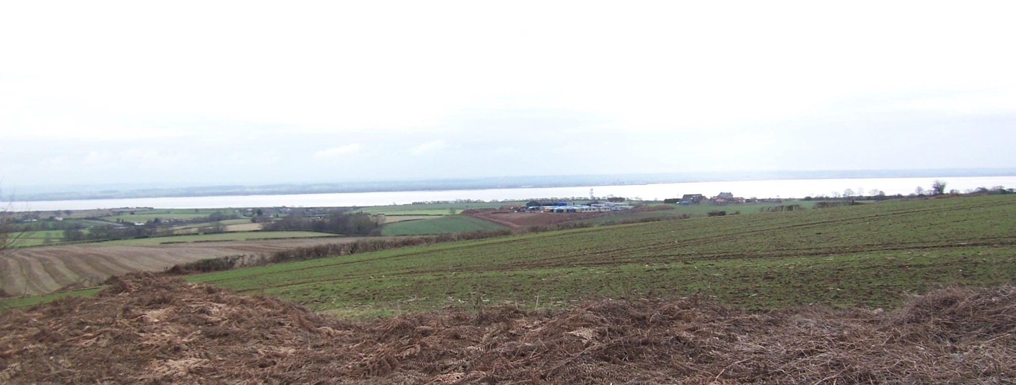 View of the River Severn from footpath FWO-78-1